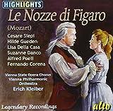 Mozart : Le Nozze di Figaro (extraits). Siepi, Gueden, della Casa, Danco, Kleiber.