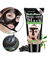 Masque Point Noir,Peel off Masque,Masque Noire Peau Nettoyage,Anti-Point Masque, Point Noir Masque,Peel off Masque,Black Head Masque,Blackhead Remover Masque,nettoyant en profondeur (60g)