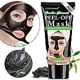 BlackMask,Maschere Viso,PeelOffMask,Maschera Nera,Rimuovere Punti Neri, Aspirazione Face Nose Clear Acne Blackhead Mask (60g)