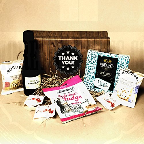 The Fabulous Thank You Treasure Box - Ideal Gift for Saying Thank You Teachers, Friends, House Sitters