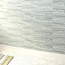JiaMeng Pegatina de Pared, PE Espuma 3D Wallpaper DIY Pegatinas de Pared decoración de la