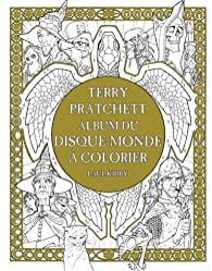 Terry Pratchett : Album du disque-monde à colorier par Paul Kidby