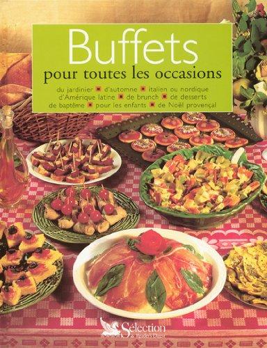 Buffets pour toutes les occasions