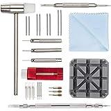 Kit de Réparation Montre Professionnel - Montre Bracelet Lien Pin Remover Kit de Réparation d'Outils de Watch Band pour Les H