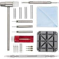Kit de Réparation Montre Professionnel - Montre Bracelet Lien Pin Remover Kit de Réparation d'Outils de Watch Band pour…