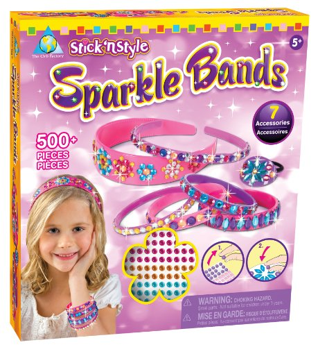 Orb Factory: Stick'n Style Sparkle Bands -