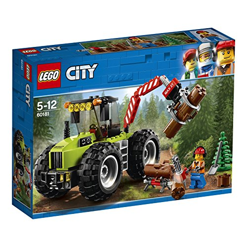 LEGO UK 60181 Forest Tractor Building Block Best Price and Cheapest