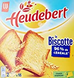 Heudebert Biscotte Nature 36 Tranches 290 g