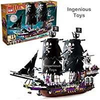 Product Description Battle on the high seas with the Lego Pirates Brick Bounty Building Set.