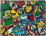 Wallet–Marvel–All Over Druck Falttür Neue Lizenzprodukt Geschenke mw2g26mvl