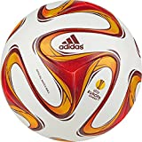 Adidas Men's Ball - White/Burgundy/Solar Red, Size 5 - Best Reviews Guide