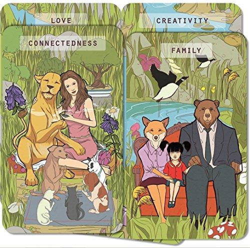 KEYANDO -- The Game of Happiness, Hanafuda, Kemps und Keypairs - Englische Spielkarten und Coaching-Karten