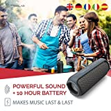 Treblab HD55 Bluetooth Speaker, Enjoy Loud 360° Surround Sound At Home, Outdoors Or Travel, 2018 New Model, Loudest 24W Portable Stereo, Best Bass Blue Tooth w/Wireless Speakerphone, Waterproof IPX4