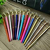 Crystal Ball Pens Ballpen Fashion Girl Large Diamond Ballpoint Pens Pens For School Stationery Office Supplies