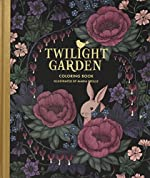 Twilight Garden Coloring Book - Published in Sweden As