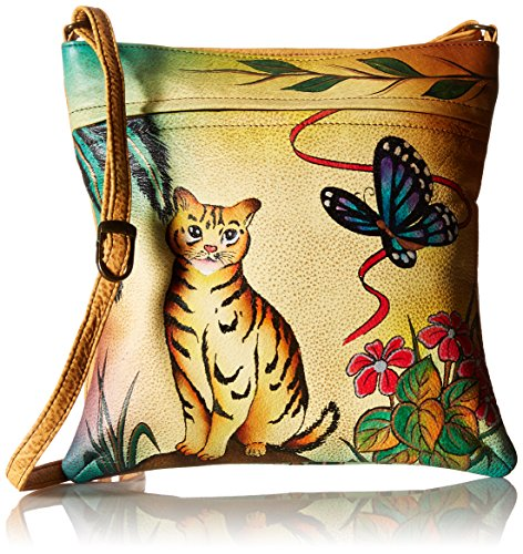 anuschka-womens-anna-handpainted-leather-slim-crossbody-cross-body-handbag-cat-one-size