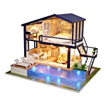 Crazy-Store CUTEROOM DIY Doll House 3D Assemble Wooden Furniture Kid Toy Gift (Time Apartment)