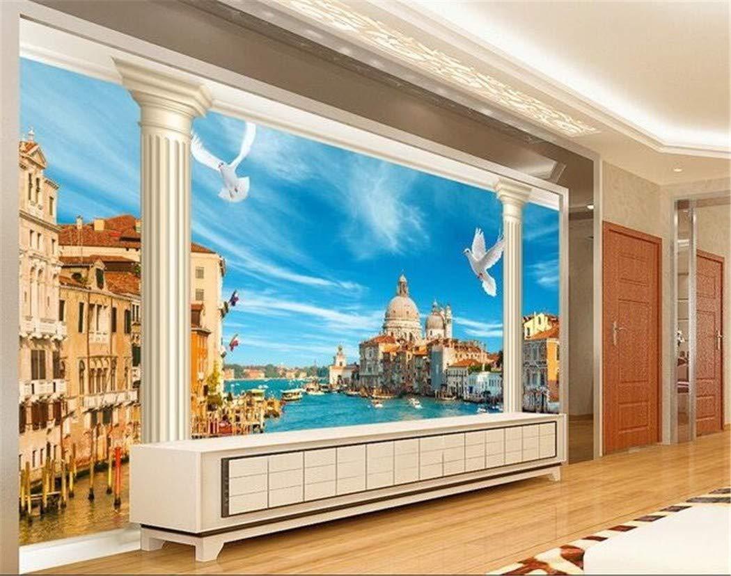 Carta Da Parati 3D Wallpaper Murale Personalizzato Adesivi Murali 3 ...