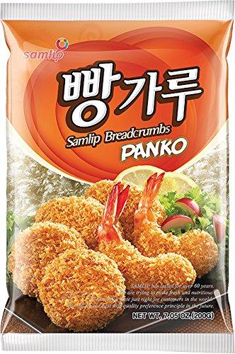 Samlip Panko Paniermehl  (aus Südkorea) 6er Vorteilspack (6 x 200g)
