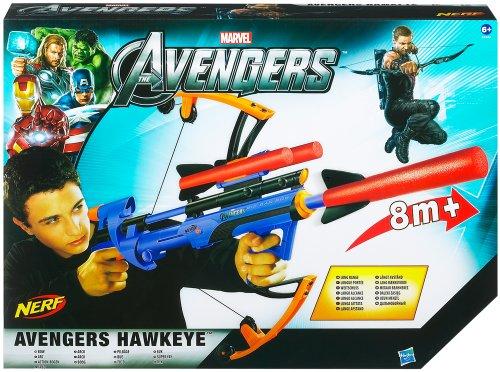Hasbro 39945 - Marvel Avengers Hawkeye - Action Bogen (Avengers Hawkeye Bow)