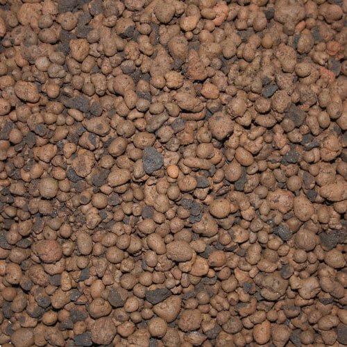 PALIGO Blähton Keramsit Pflanz Granulat Ton Steine Lava Mulch Drainage Hydro Kultur Substrat Trocken Schüttung Dämmung Fein 4-10mm (50l Sack / 1 Karton)