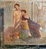 "Impresión artística / Póster: 1. Jahrhundert ""Two Women / Rom.Mural Paint./ C1st AD"" - Impresión de alta calidad, foto, póster artístico, 60x65 cm - Kunst für Alle - amazon.es"