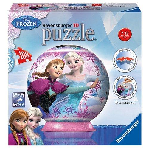 Ravensburger - 12214 - Puzzle 3d - Reine des Neiges - 108 Pièces