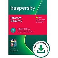 Kaspersky Internet Security 2021 Standard | 3 Geräte | 1 Jahr | Windows/Mac/Android | Aktivierungscode per Email
