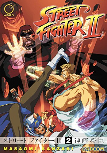 Street Fighter II - The Manga Volume 2: v. 2 by Masaomi Kanzaki (10-Jun-2008) Paperback