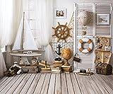 Konpon fondo para estudio de fotografía playa paisaje vacaciones de verano escena compuer impreso vinilo Photo Studio Accesorios