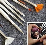 chengyida 15Stück/Set BJD Make-up Tools Haken Line Pen für BJD/SD Face bis Blush Puppe DIY Make-up Zubehör