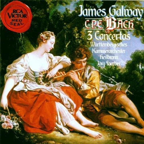 Carl Philipp Emanuel Bach: 3 Flötenkonzerte (H.445 / H.438 / H.426)