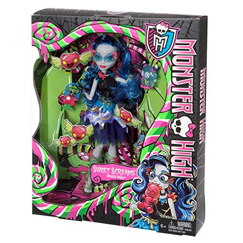 Monster High Dolce Urla Ghoulia Yelps Bambola