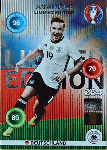 carte PANINI EURO 2016 # Mario Götze