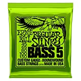 Ernie Ball Regular Slinky 5-Saiter Nickel Wound E-Bass Saiten - 45-130 Gauge