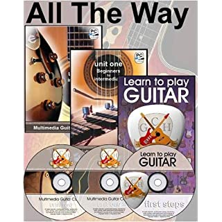 GCH Guitar Academy Multimedia Guitar Course: All the Way Guitar - Absolute Beginners to Intermediate Plus [DVD]