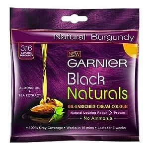 Garnier Black Naturals Shade Natural Burgundy 3.16, 20ml+20g