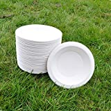 Martin's Tableware (previous ecotableware) Sugarcane Bowl 18cm 450ml (50pack) Round Natural Alternative For Plastic P109 (50)