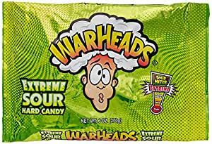 Warheads Hard Candy Sour Extreme, 170g
