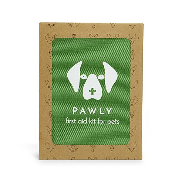 Pawly Pet First Aid Kit - Includes Over 40 Premium Items - Tick Remover, Syringe, Vet Wrap, Bandages, Wipes and Lancets 5
