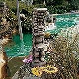 Design Toscano Der Gott von Luau Tiki, Götterfigur