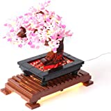 LYCH LED-belysningsset för LEGO 10281 Creator Expert Bonsai träd, belysning kompatibel med LEGO 10281 Bonsai Tree, utan lego-