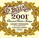 Labella L2001LT Concert Série Jeu de Cordes pour Guitare Light Tension