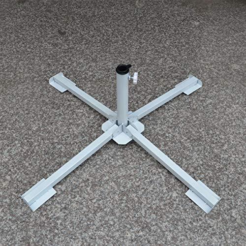 Jinxuny Beach Sun Umbrella Bracket Werbung Umbrella Bracket Stand Leichte kompakte Faltbare tragbare Schirmständer
