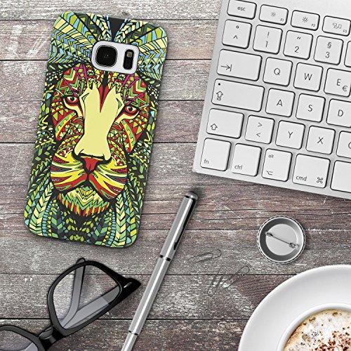 Urcover® Apple iPhone 7 Plus / 8 Plus Forest King Schutz-hülle   Design Eule Muster   Polycarbonat Back-case   Cover Smartphone Zubehör Tasche Handy-hülle Variante 1