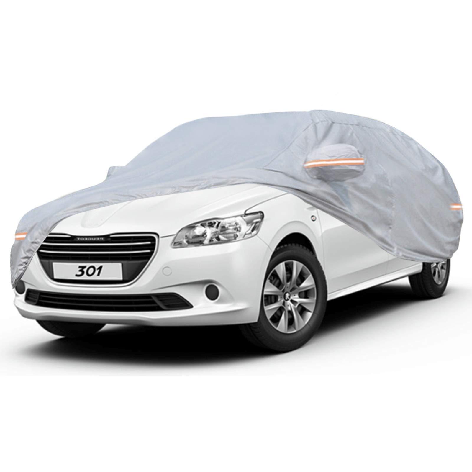 Housse de Voiture pour Peugeot Bâche de Protection NOVSIGHT