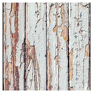 murando - Tapete selbstklebend 10m Wandtattoo dekorative Möbelfolie Dekorfolie Fotofolie Panel Wandaufkleber Wandposter Wandsticker - Holz 1602-1