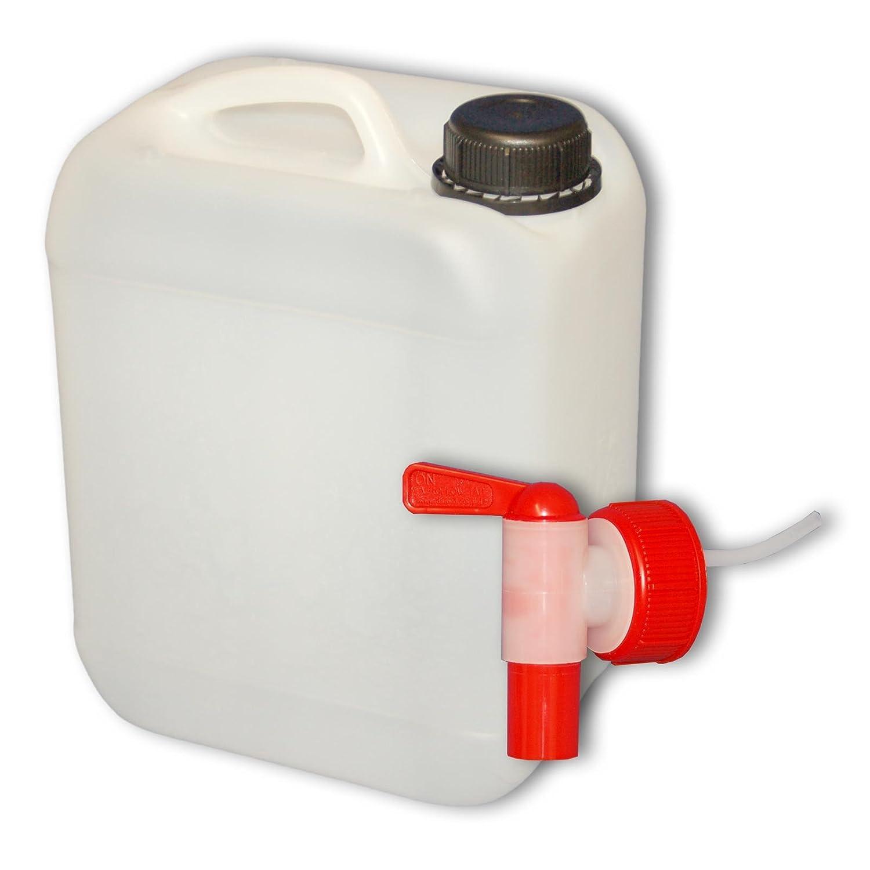10l Wasserkanister Wasserbehälter Wasser Tank mit Hahn Trinkwasser Kanister Hahn