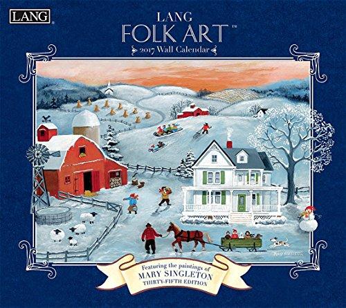 Lang Folk Art 2017 Calendar