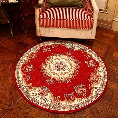 Tappeto con tappeto moderno in tinta unita con motivi classici soggiorno american garden tavolino da caffè camera da letto carpet sofà sedia da computer tavolo rotondo washing carpet